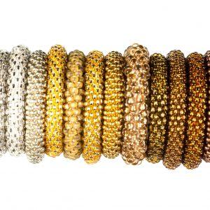 Silber-, Gold-& Bronzetöne